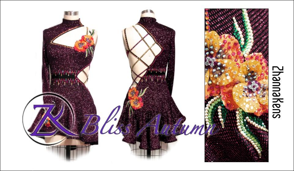 Zhannakens Bliss autumn dress
