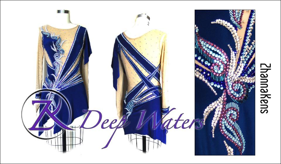 Zhannakens Deep waters dress