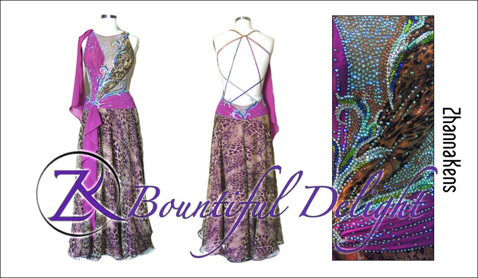 Zhannakens Bountiful delight dress