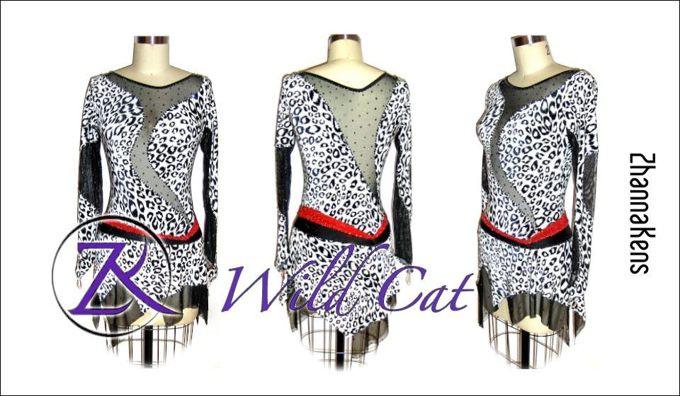 Zhannakens Wild cat dress