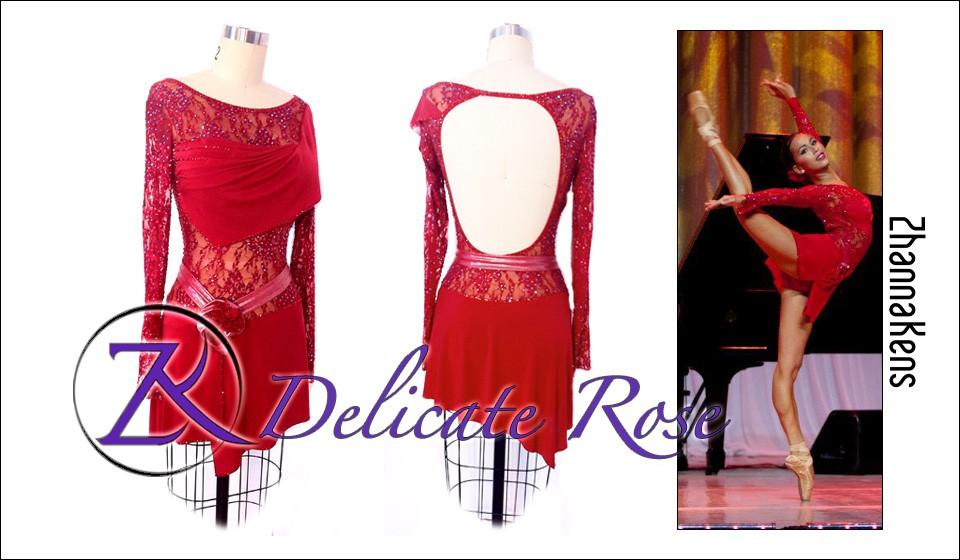 Zhannakens Delicate rose dress
