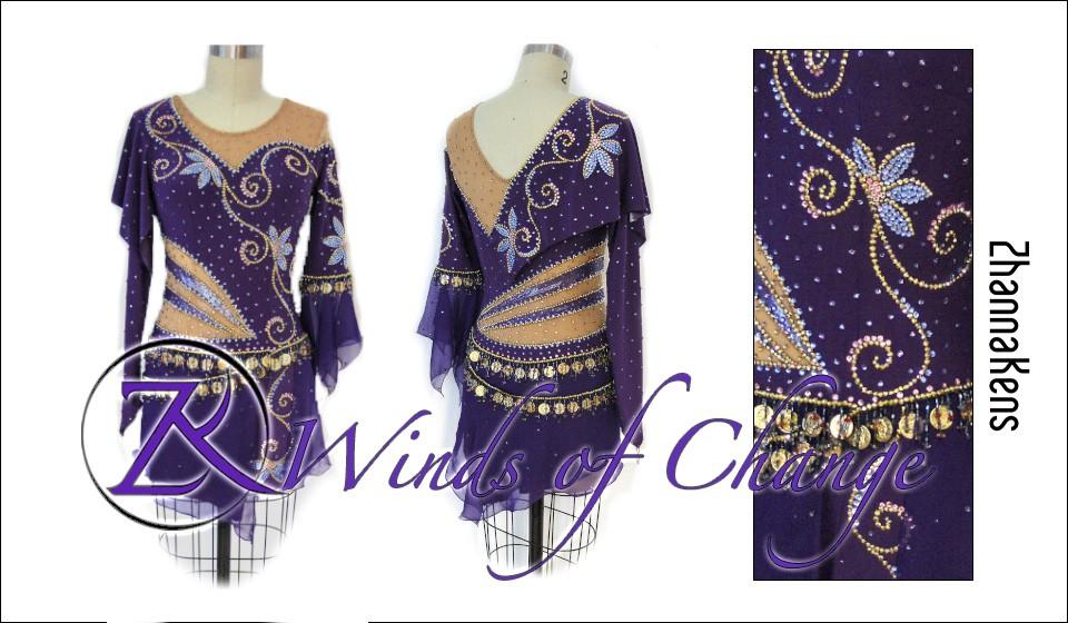 Zhannakens Winds of change dress