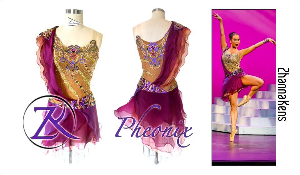 Zhannakens - Pheonix dress
